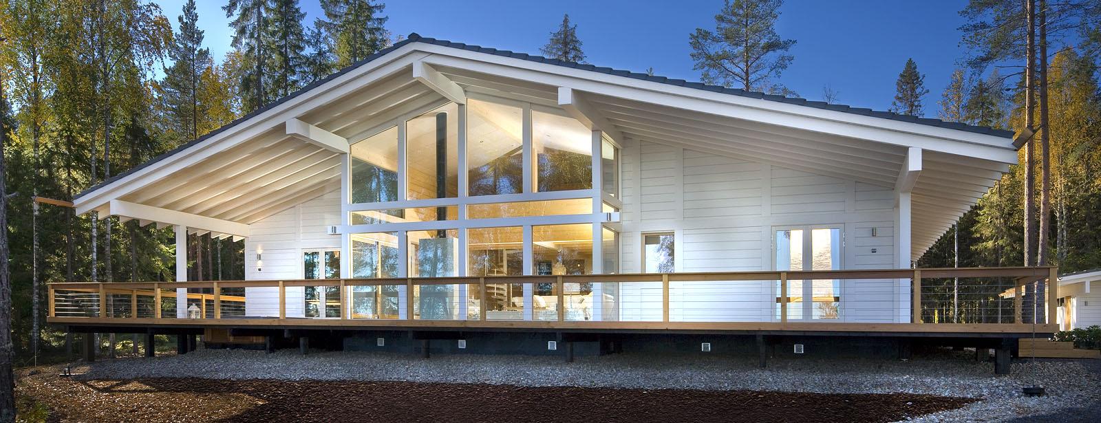 Costruttori Finlandesi Di Case In Legno Dal 1907 Polar Life Haus